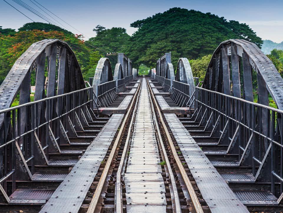 Ponte sul fiume Kwai - Kanchanaburi