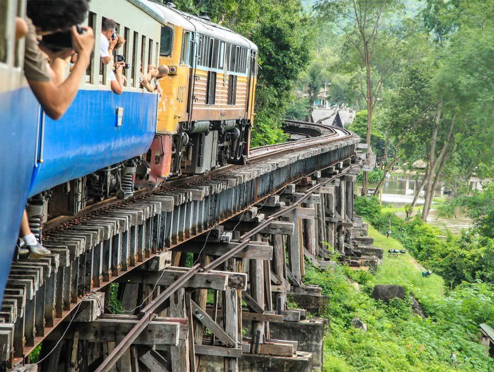 Ponte di legno Death Railway