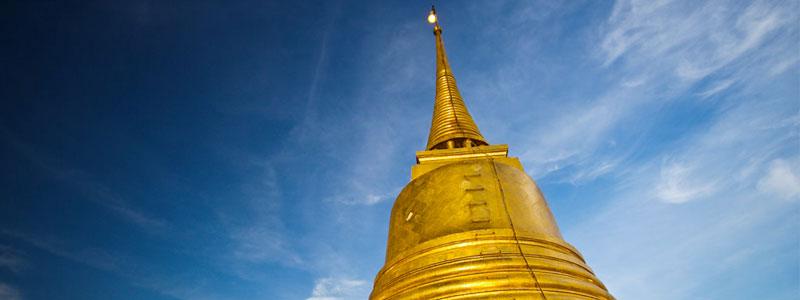 Wat Saket – la montagna dorata di Bangkok [Thailandia]