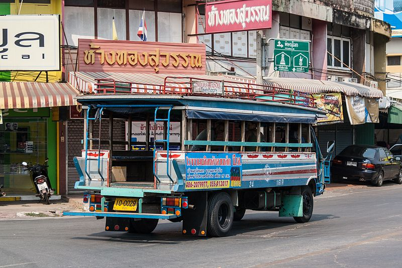 songthaew sukhothai