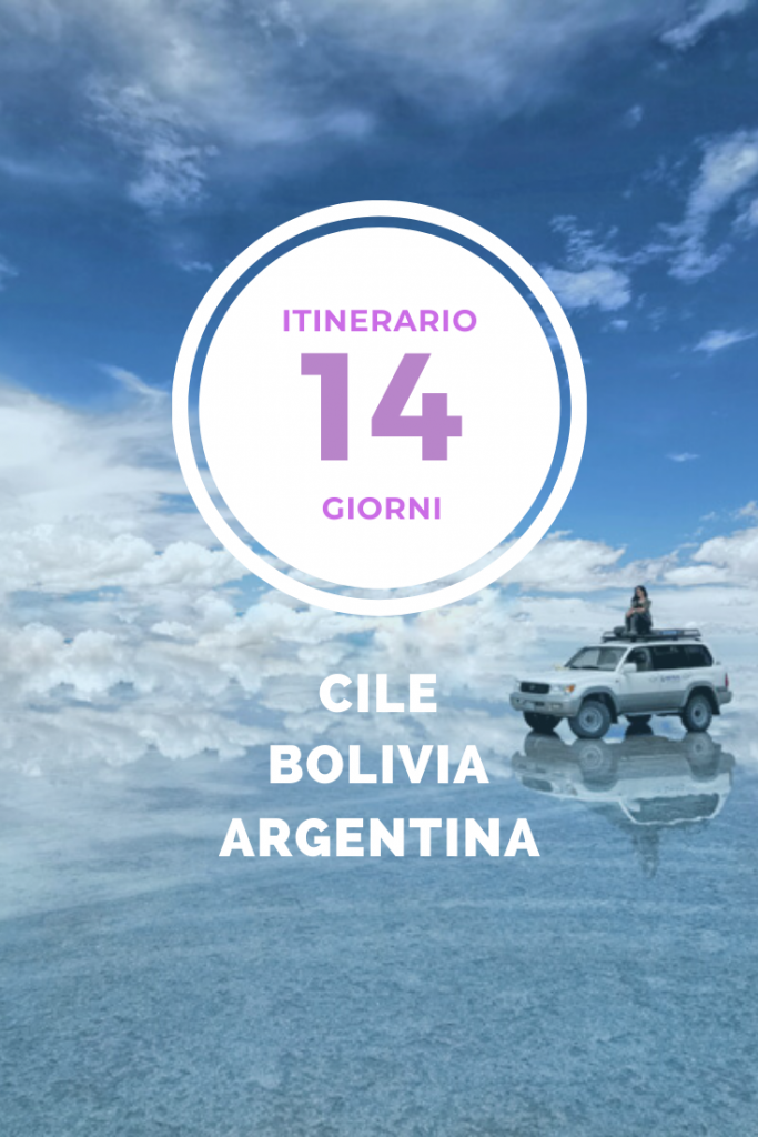 itinerario cile bolivia argentina