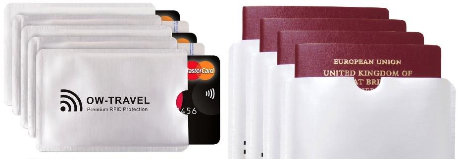 custodie blocco RFID