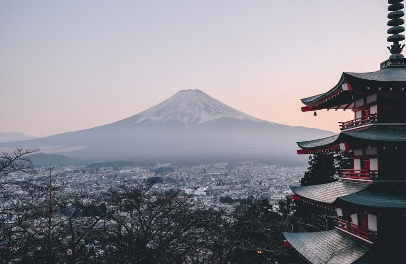 leggenda del monte fuji