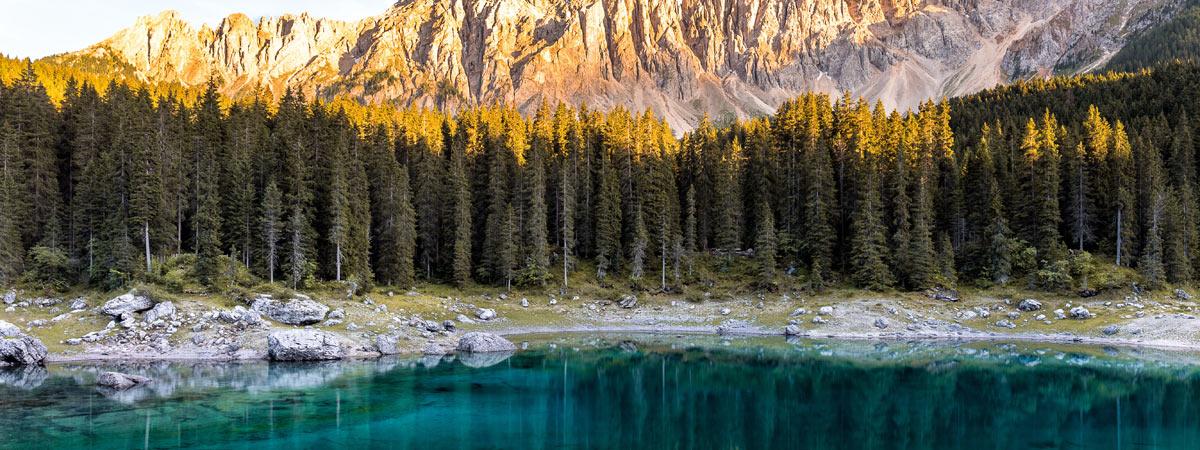 La leggenda del lago di Carezza e della ninfa Ondina